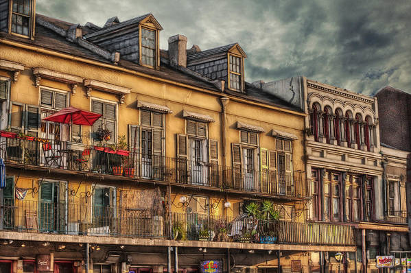 French Market Art Print featuring the photograph French Market View by Brenda Bryant