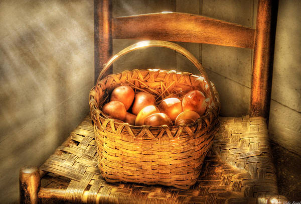 Savad Art Print featuring the photograph Fruit - Fresh Peaches by Mike Savad