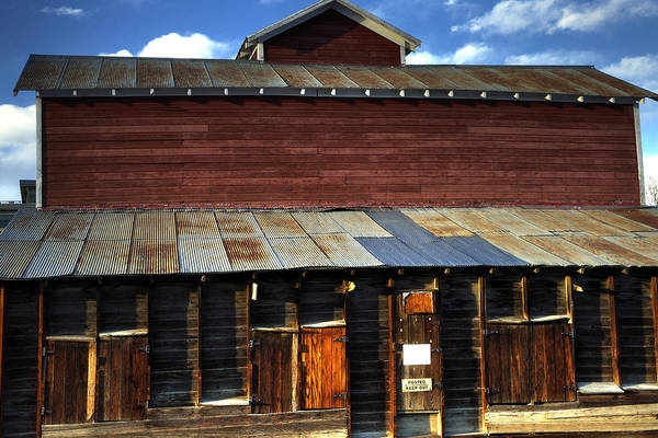 Ft Print featuring the photograph Ft Collins Barn 13553 by Jerry Sodorff