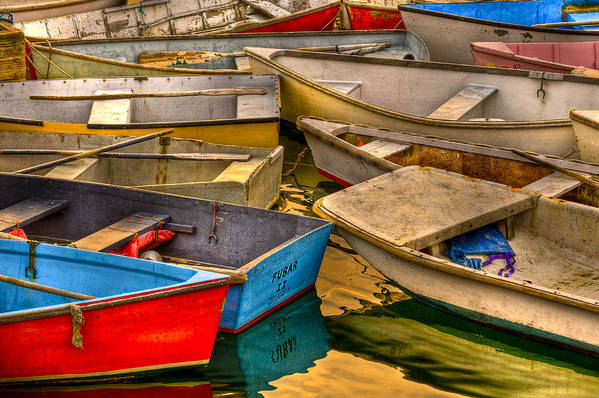 Boat Art Print featuring the photograph Fubar II by Scott Slattery
