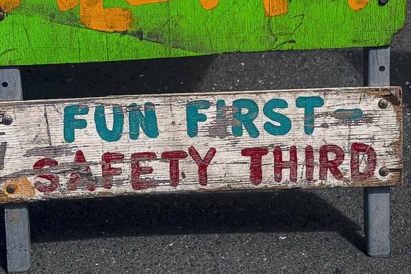 Fun First Art Print featuring the photograph Fun First by Garry Gay