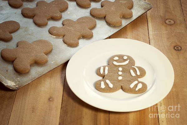 Celebration Art Print featuring the photograph Gingerbread Cookies by Juli Scalzi