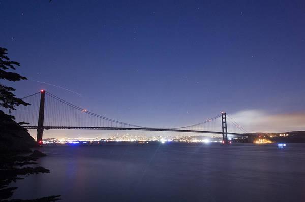 San Francisco Art Print featuring the photograph Golden Gate Silhouette by Scott Lenhart