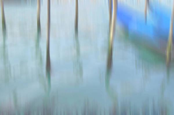 Venice Art Print featuring the photograph Gondola Poles by Marion Galt