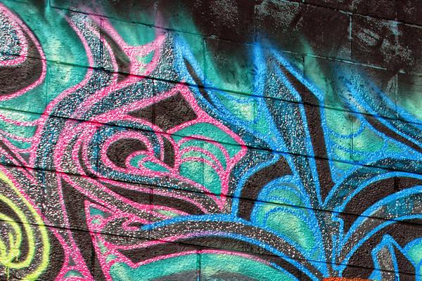 Graffiti Art Print featuring the photograph Graffiti 20 by Tera Bunney