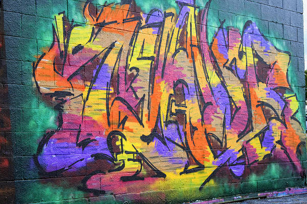 Graffiti Art Print featuring the photograph Graffiti 4 by Tera Bunney