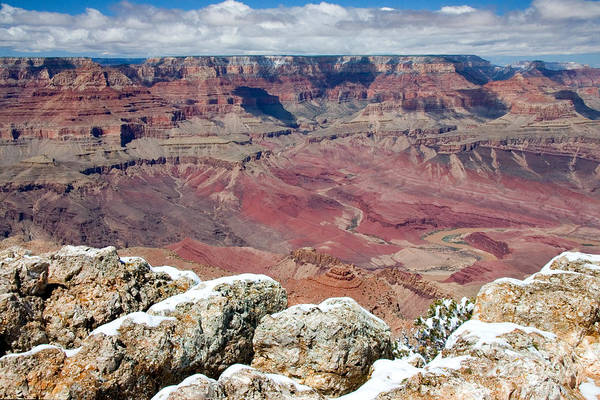 Landscape Art Print featuring the photograph Grand Canyon In Arizona by Julia Hiebaum
