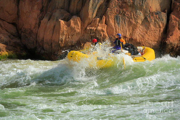 America Art Print featuring the photograph Granite Rapids by Inge Johnsson