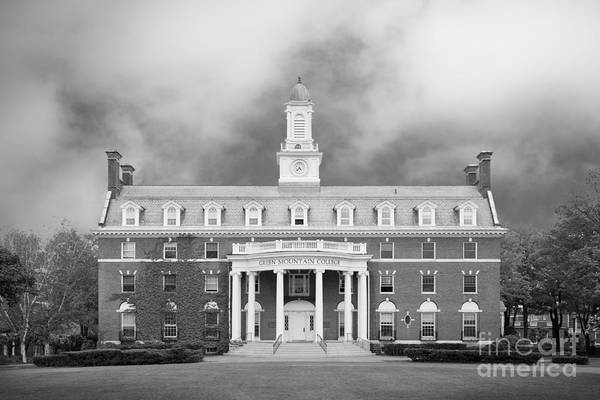 Green Mountain Art Print featuring the photograph Green Mountain College Ames Hall by University Icons