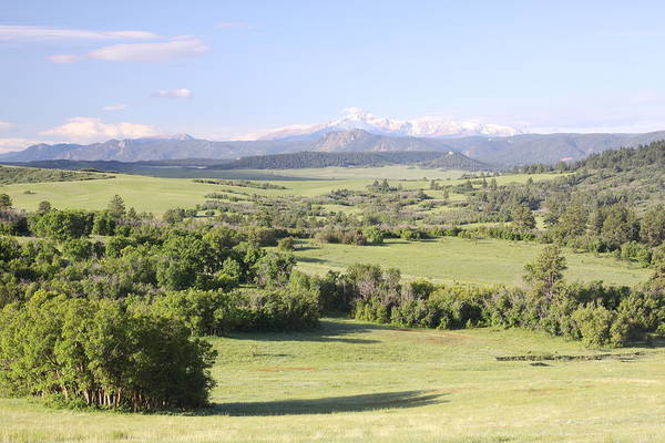 Colorado Art Print featuring the photograph Greenland Ranch by Eric Glaser