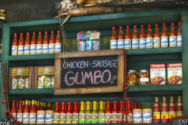 French Market Art Print featuring the photograph Gumbo by Brenda Bryant