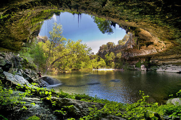 Hamilton Pool Art Print featuring the photograph Hamilton Pool by Lisa Spencer