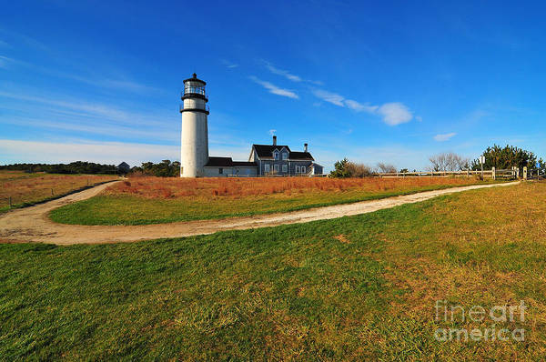 Cape Cod Print featuring the photograph Highland Point Light by Catherine Reusch Daley