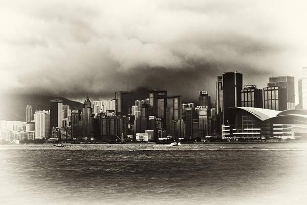Hong Kong Art Print featuring the photograph Hong Kong Bay by Nicola Hubbard