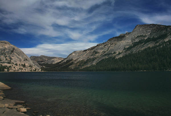 Tenaya Lake Art Print featuring the photograph If I Spent Forever Here by Laurie Search