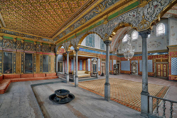 Imperial Hall Print featuring the photograph Imperial Hall Of Harem In Topkapi Palace by Ayhan Altun