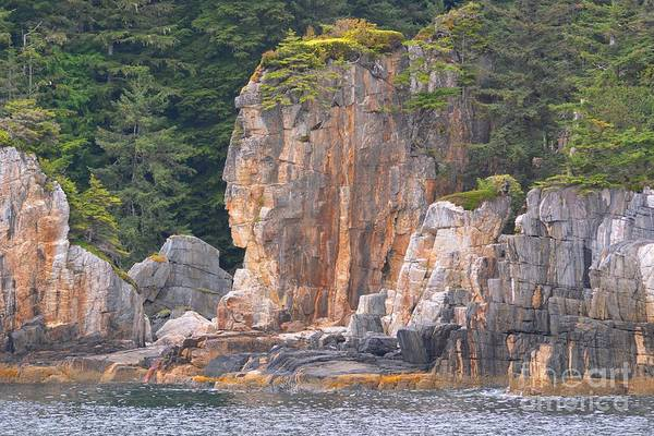 Landscape Art Print featuring the photograph Indian Rock by Deanna Cagle