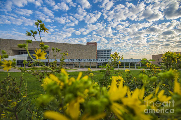 Indiana Art Print featuring the photograph Indiana State Museum Bravo by David Haskett