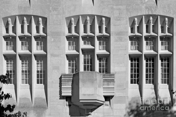 American Art Print featuring the photograph Indiana University Myers Hall by University Icons