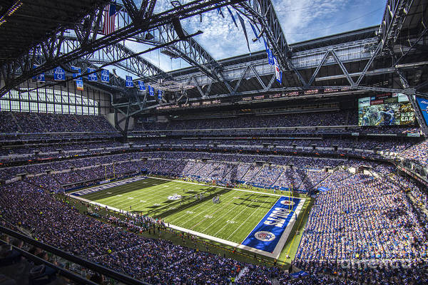 Indiana Art Print featuring the photograph Indianapolis Colts 3 by David Haskett
