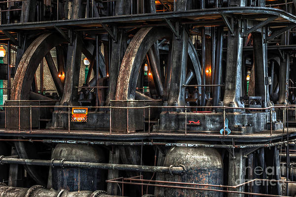 Steampunk Art Print featuring the photograph Industrial 4 by Phil Pantano