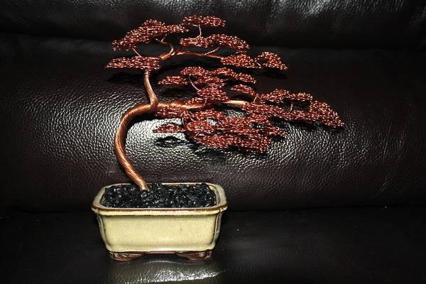 Tree Art Print featuring the mixed media Inna's Tree 2012 by Aleksandr Rakhlin
