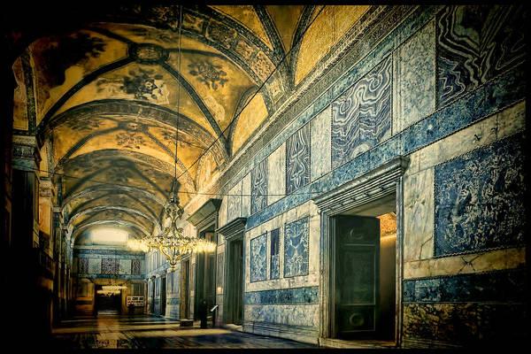 Hagia Sophia Art Print featuring the photograph Interior Narthex by Joan Carroll