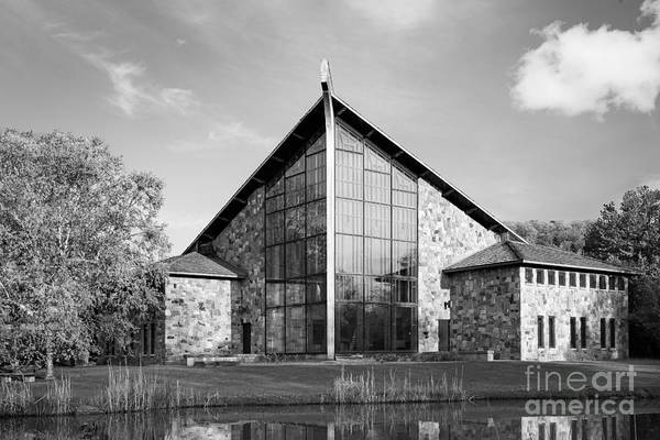 Ithaca Art Print featuring the photograph Ithaca College Muller Chapel by University Icons