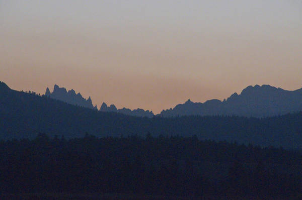 Eastern Sierras Art Print featuring the photograph Jagged Peaks Of The Eastern Sierra by Scott Lenhart