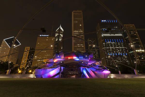3scape Photos Art Print featuring the photograph Jay Pritzker Pavilion Chicago by Adam Romanowicz