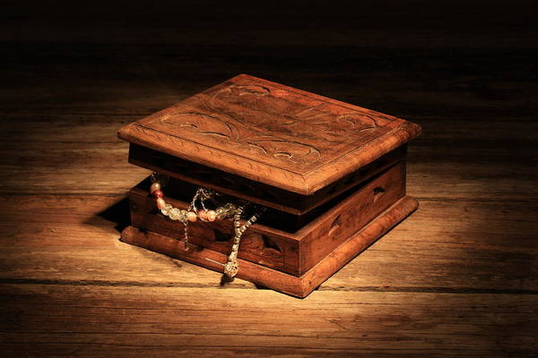 Jewellery Box Art Print featuring the photograph Jewellery Box by Keith Hawley