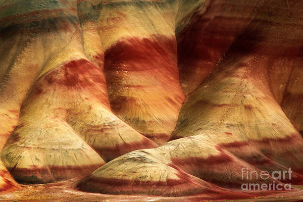 America Art Print featuring the photograph John Day Martian Landscape by Inge Johnsson