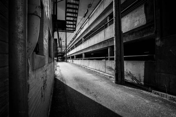 Urban Art Print featuring the photograph Just Another Side Alley by Bob Orsillo