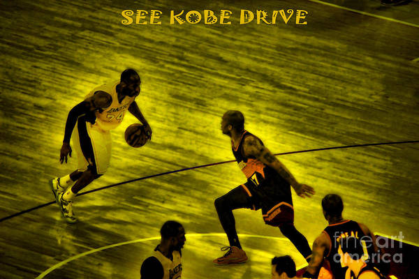 Kobe Nba Los Angeles Lakers 2013 Drive To Championship Staples Center All Star Western Conference Kobe Nba Los Angeles Lakers 2013 Drive To Championship Staples Center All Star Western Conference Kobe Nba Los Angeles Lakers 2013 Drive To Championship Staples Center All Star Western Conference Kobe Nba Los Angeles Lakers 2013 Drive To Championship Staples Center All Star Western Conference Kobe Nba Los Angeles Lakers 2013 Drive To Championship Staples Center All Star Western Conference Art Print featuring the photograph Kobe Lakers by RJ Aguilar