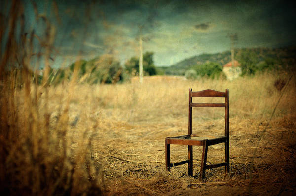 Surreal Art Print featuring the photograph La Chaise by Taylan Apukovska