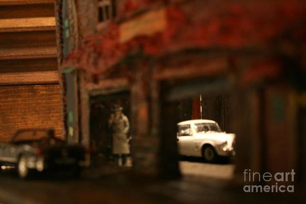 Classic Cars Art Print featuring the photograph Late Evening Pick-up by William Bezik
