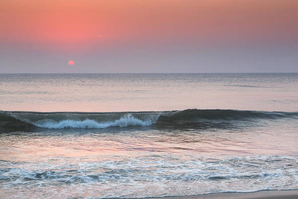Beach Art Print featuring the photograph Late Summer Sunrise by Bill Wakeley