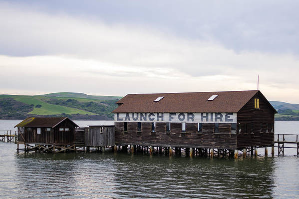 Point Reyes Art Print featuring the photograph Launch For Hire by Priya Ghose
