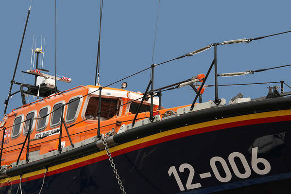 Life Art Print featuring the photograph Life Boat by Christopher Rowlands