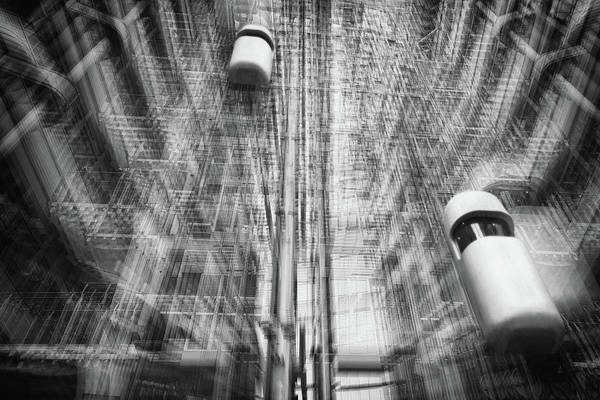 Lift Art Print featuring the photograph Lift Into The Future by Roswitha Schleicher-schwarz