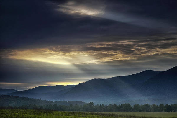 Smoky Art Print featuring the photograph Light From The Heavens by Andrew Soundarajan