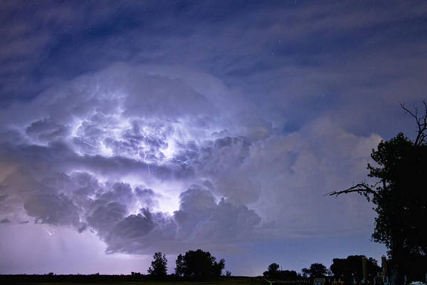 Lightning Art Print featuring the photograph Light Show by James BO Insogna