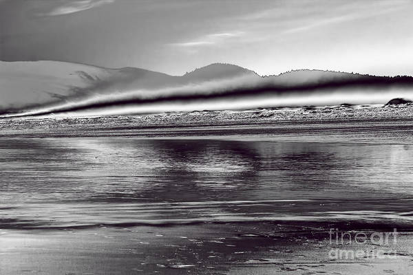 Pacific Ocean Art Print featuring the photograph Liquid Metal by Jon Burch Photography