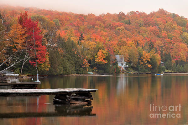 Long Pond Art Print featuring the photograph Long Pond -- First View by Charles Kozierok