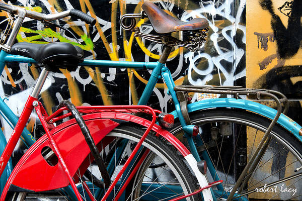 Bikes Art Print featuring the photograph Love At First Sight by Robert Lacy