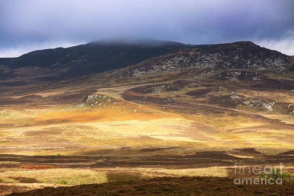 Scotland Art Print featuring the photograph Low Cloud Over Highlands by Jane Rix
