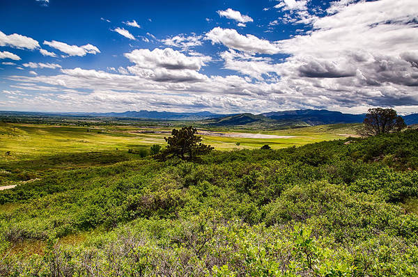 Colorado Art Print featuring the photograph Lush Landscapes by Tony Boyajian