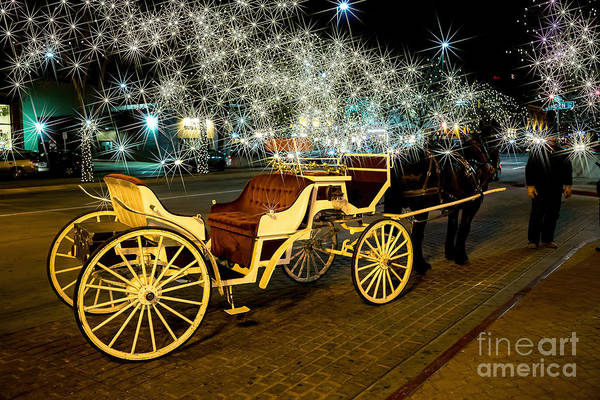 Old Town Art Print featuring the photograph Magic Night by Jon Burch Photography