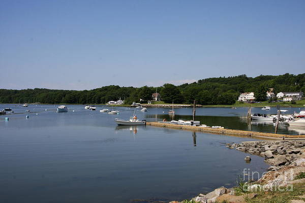 Maine Art Print featuring the photograph Maine Seascape by Christiane Schulze Art And Photography