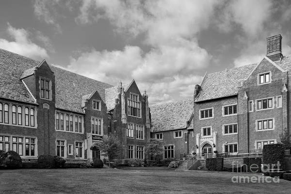 Mercyhurst Art Print featuring the photograph Mercyhurst University Old Main by University Icons